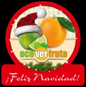 Weihnachtskarte ecoverfruta